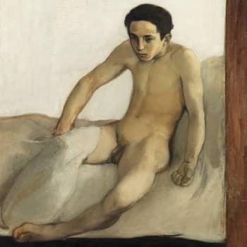 Magnus Enckellin homoeroottinen taide kuvasi aistillisia miehiä - 1900-luvun alun Tom of Finland?