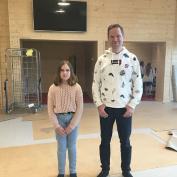 Iin Alarannan koulu muutti uusiin tiloihin: valoisa ja ympäristöystävällinen