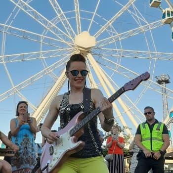 Blueskitaristi Erja Lyytinen nousi maailman huipulle
