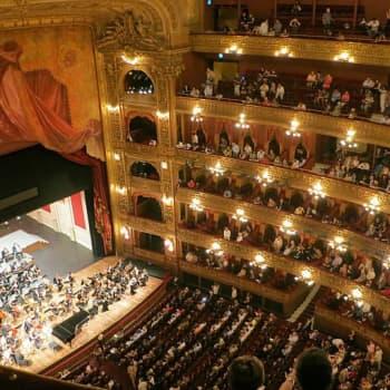 Oopperagaala Lontoossa ja kolme finaalia Berliinissä