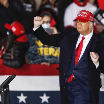 Trump ja Biden kampanjoivat täysillä ennen vaalipäivän huipennusta.