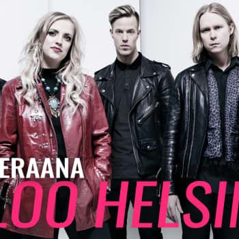 YleX Aamu: Vieraana Haloo Helsinki!: YleX oli ensimmäinen radiokanava joka soitti meidän musaa 10 vuotta sitten