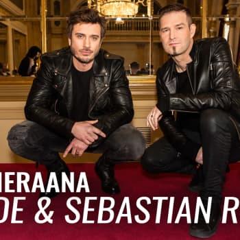 Darude ja Sebastian Rejman vieraana: Euroviisuedustus on unelmien täyttymys