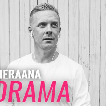 Vieraana Redrama: Mä olen rap-dinosaurus ja tavu-nörtti