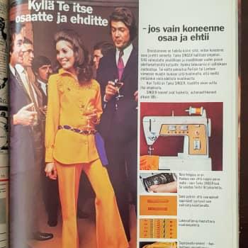 Mökkihuussista löytyneiden lehtien katsaus 4: Intiimialueiden mainokset Me Naisissa 1970