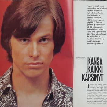Mökkihuussista löytyneiden lehtien katsaus 1: Me Naiset 1970 ja Tapani Kansa