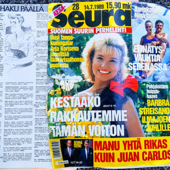 Mökkihuussista löytyneiden lehtien katsaus 2: Seuran Haku päällä -palsta 1989