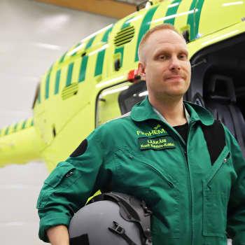 Lentävä lääkäri kohtaa työssään sekä syntymän että kuoleman