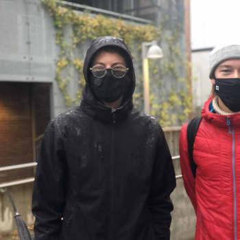 Oliver Back och Frans Villanen vid ÅA fortsätter med distansstudier hela våren