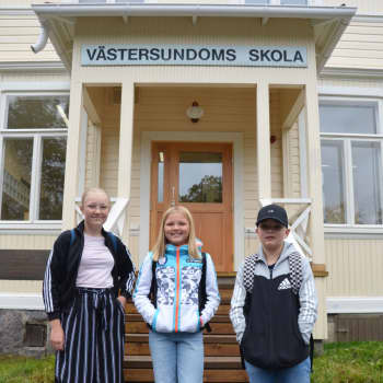 Nu saknas bara mat- och gymnastiksal - Västersundoms skola inleder höstterminen i nyrenoverade utrymmen