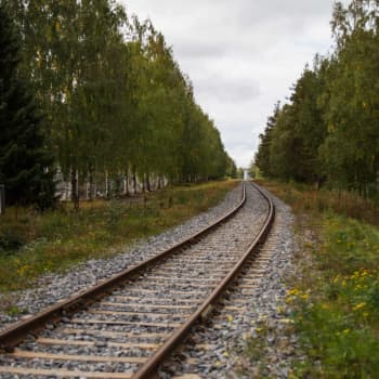 """""""Det här är ett paradis nu, bygger man tågbana blir det förstört"""" - Esbobon Claes vill inte ha entimmeståget på sin bakgård"""