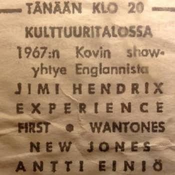 YLE Helsinki: Jimi Hendrix esiintyi Kulttuuritalolla 50 vuotta sitten – keitä yleisössä oikeasti istui?