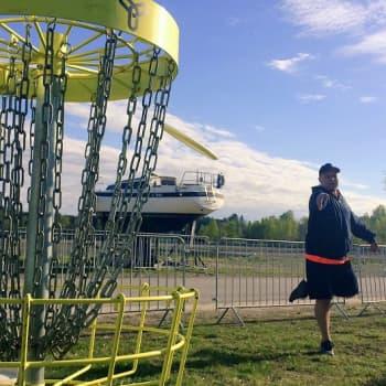 YLE Helsinki: Sipoossa käynnistyy helatorstaina massiivinen frisbeegolf-kilpailu