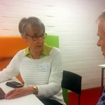 YLE Helsinki: Pankkipalveluiden sähköistyminen vaikeuttaa ikäihmisen laskun maksua