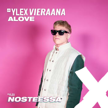 """Alove YleX Nosteessa -sarjasta vieraana: """"Sarjaa tehdessä on saanut eri kulmia musiikin tekemiseen"""""""