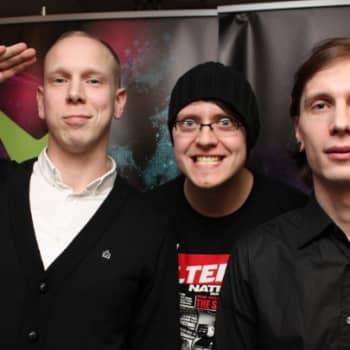 Vieraana Isoveli-yhtyeen Eero Alasuutari ja Jesse Valo