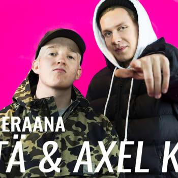 Vieraana Lyttä ja Axel Kala: Jyväskylässä jengi tekee musaa täysillä, eikä keskity epäolennaiseen