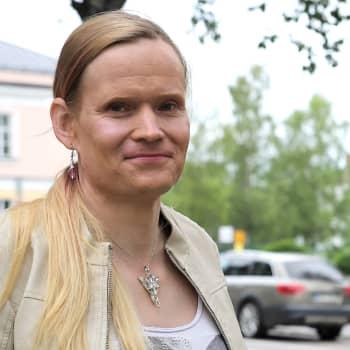 Aurora Känsäkangas on kasvanut pojasta naiseksi