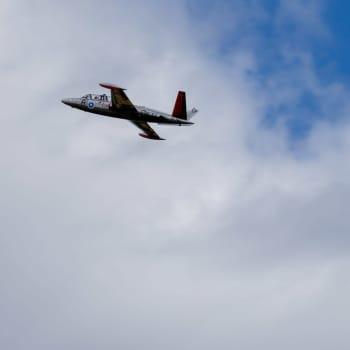 Hävittäjäehdokkaat esillä Kauhava Airshowssa