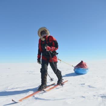 Paula Strengell kertoo hiihtomatkastaan Etelänavalle