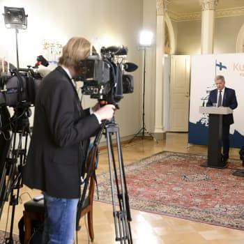 President Niinistö oroad över låntagning och geopolitik i coronakrisen
