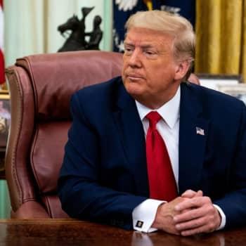 President Donald Trump har smittats av coronaviruset