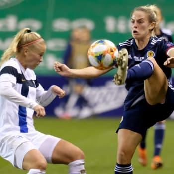 Finland slog Skottland med 1-0 i kvalmatchen