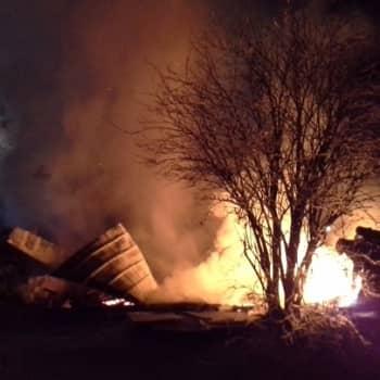 YLE Pohjois-Karjala: Isä Sergei kertoo Valamon maatilan palosta