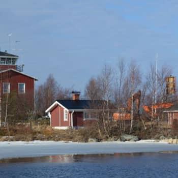 Merisään paikannimien taustat Nyhamnista Ajokseen