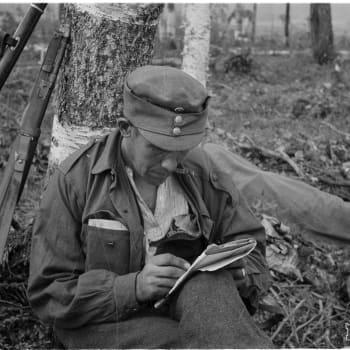 Sota-aikana kaikki kirjoittivat kirjeitä