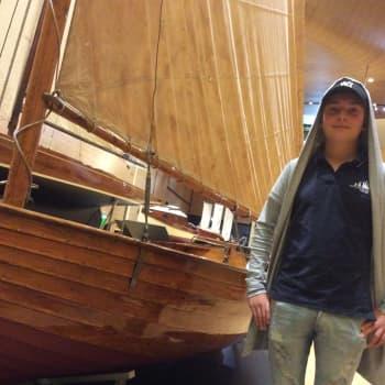 YLE Kymenlaakso: Tall Ships Races oli uusi kokemus perämieheksi opiskelevalle Konstalle