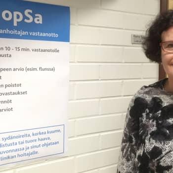 YLE Kymenlaakso: Nopea sairaanhoitajan vastaanotto sopii pienten vaivojen hoitoon