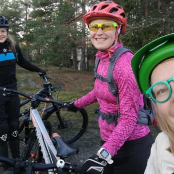 Maastopyörällä marraskuussa