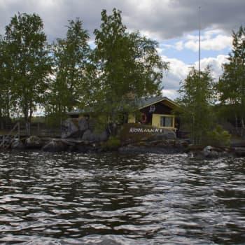 Metsäradio.: Metsäradio vieraili Konjakki-saarella Päijänteellä