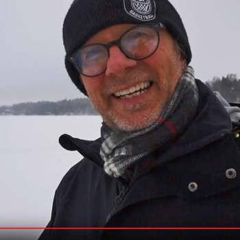 Metsäradio.: Tapani Ripatille lumikenkäily on elämäntapa