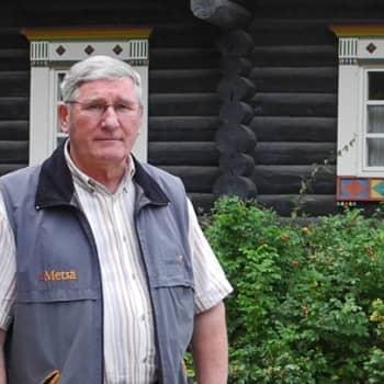 Metsäradio.: Ritoniemen hirsirakenteinen tsasouna