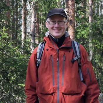 Henkilökuvassa eräjournalisti Jouni Laaksonen