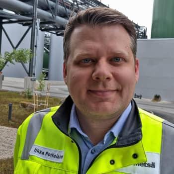 Metsäradion reportteri vieraili Äänekosken biotuotetehtaalla