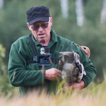 Metsäradion henkilökuvassa kurkimies Jouko Alhainen