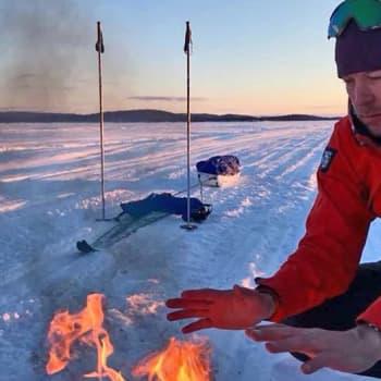 Metsäradio.: Peltsin 200 kilometrin hiihtovaellus Lapissa