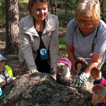 Metsäradio.: Lasten luontoleikkikoulu