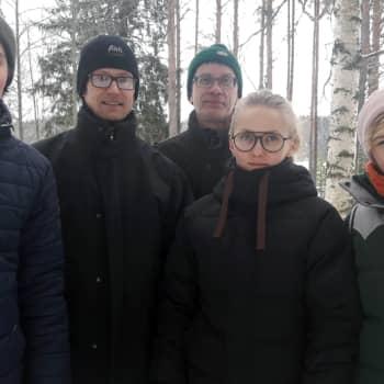Metsäradio.: Talvimetsäkurssi Konnevedellä