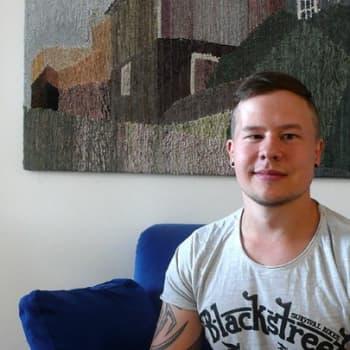 YLE Tampere: Jori Willandt kirjoitti selviytymisestään kirjan