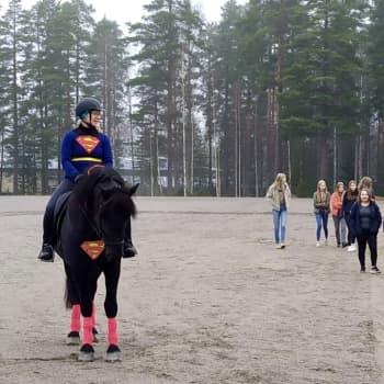 """Pörnä-Poika ryhtyi lukion mannekiiniksi – """"Se on fiksu ja kaikkien käsiteltävissä oleva hevonen"""""""