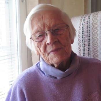 YLE Tampere: 103-vuotias Laura Vainionpää