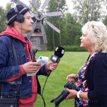 Radio Suomi Tampere: Virtolainen luontokuvaharrastaja Sirpa Jyske Mauri Tikkamäen haastattelussa