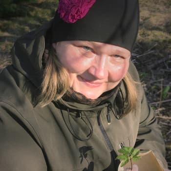 """Villiyrttiohjaaja innostaa luonnon superfoodiin: """"Vuohenputkesta maksetaan noin 500 euroa kilo, ihanaa kun tulitte puutarhaani!"""""""