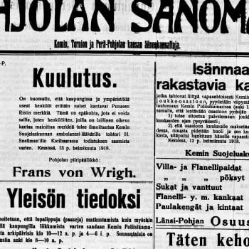 Radio Suomi Kemi: Sata vuotta sitten Lapissa käytiin kaksi taistelua