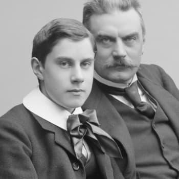 Anna Kortelainen har skrivit en roman om Erik Edelfelt, Albert Edelfelts enda son som dog i unga år
