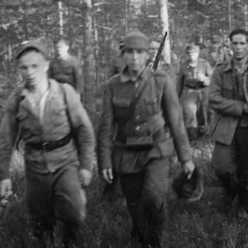 Sotilaiden äänet: Sotilaat kertovat: kersantti Reino Pekari JR1